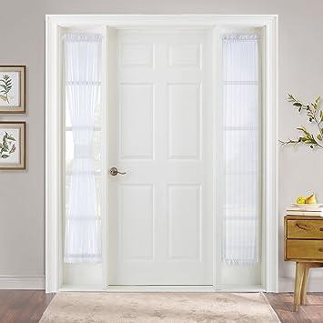 Amazon Pony Dance Sidelight Panel Curtains Sheers Voile Door
