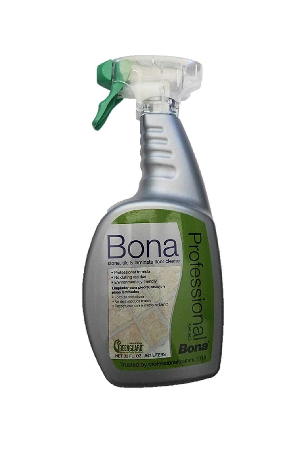 Home gt accessories gt bona pro series vinyl multipurpose cleaner - Amazon Com Bona Pro Series Wm700051188 Stone Tile And Laminate Cleaner Ready To Use 32 Ounce Spray Home Kitchen