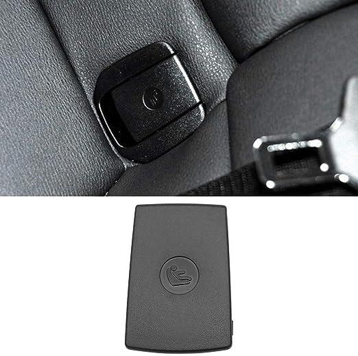 KKmoon Auto R/ücksitzhaken f/ür ISOFIX-Abdeckung Kindersitz Fit f/ür BMW X1 E84 3er E90 F30 1er E87 Schwarz