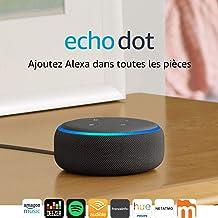 Amazon Echo Dot (3ème génération)  : idéale en domotique, moins en musique