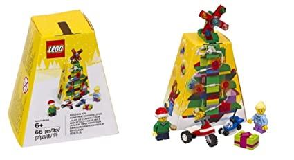 lego seasonal christmas tree ornament set 5004934