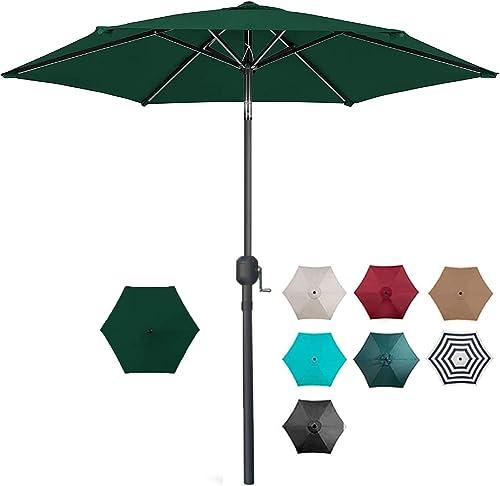 7.5ft Patio Umbrella Outdoor Table Market Umbrella