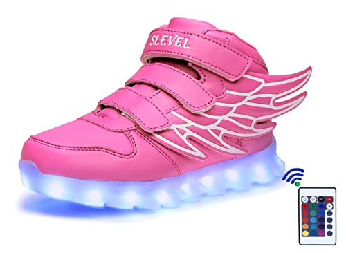 Amazon.com   SLEVEL 16 Colors LED Light Up Shoes USB Flashing Sneakers for Kids Boys Girls   Sneakers