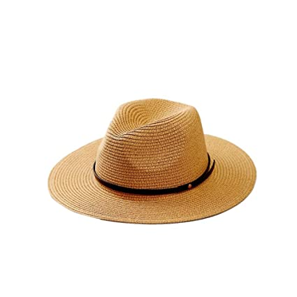 Bohemia Verano Sun Floppy Mujer Sombrero de la Playa de la Paja del Borde  Grande Ancho ef5e302b38b