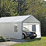 ShelterLogic 25772 ClearView Enclosure Kit 10 x 20', Canopy enclosure kit only, canopy frame and cover sold separately