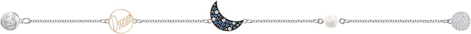 finition mix de m/étal cristal multicolore Bracelet Swarovski Remix Collection Moon pour femme