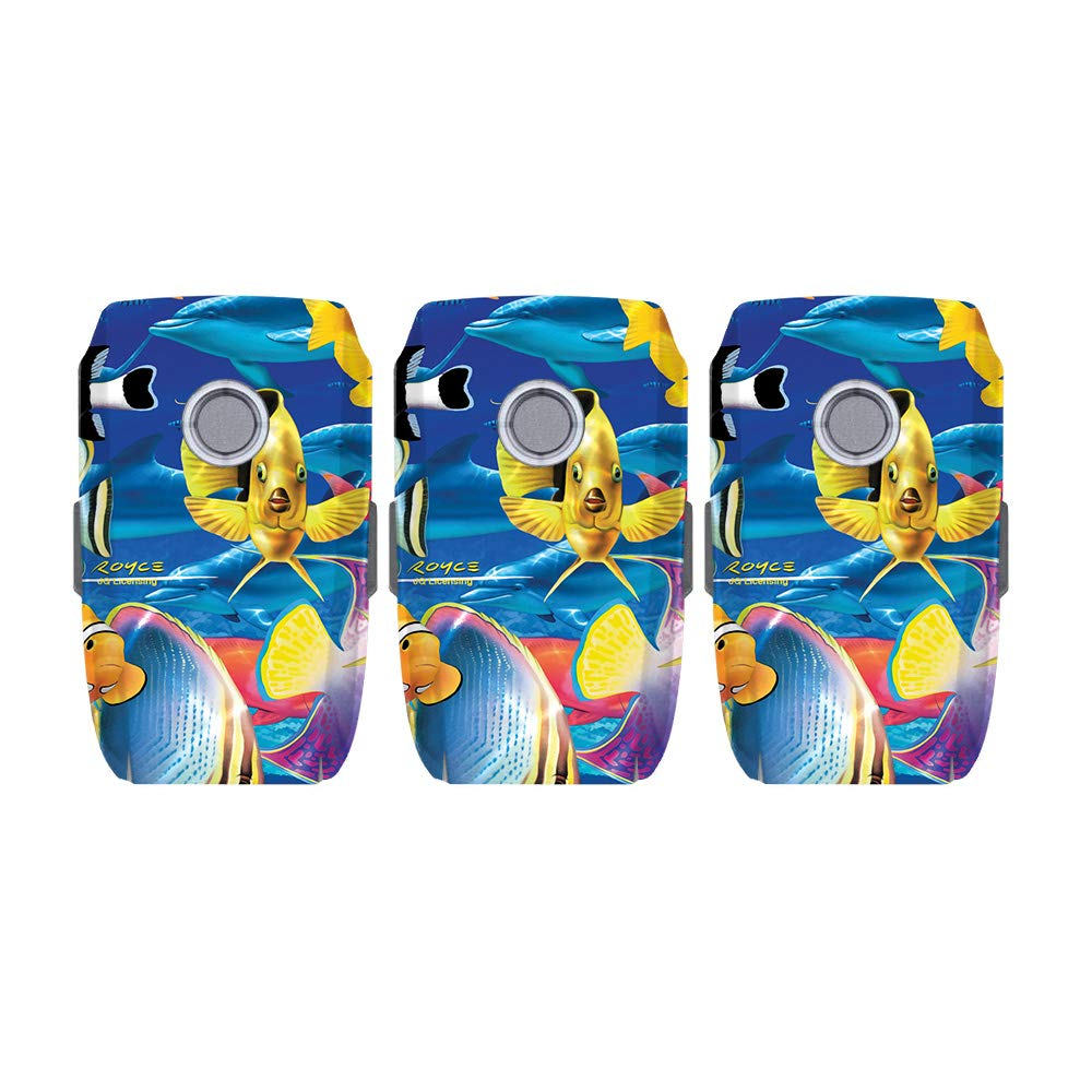 0049c43c962 MightySkins Skin for DJI Mavic 2 Pro and Zoom Battery - Tropical Fish |  Protective, Durable, and Unique Vinyl Decal wrap Cover | Easy to Apply,  Remove, ...