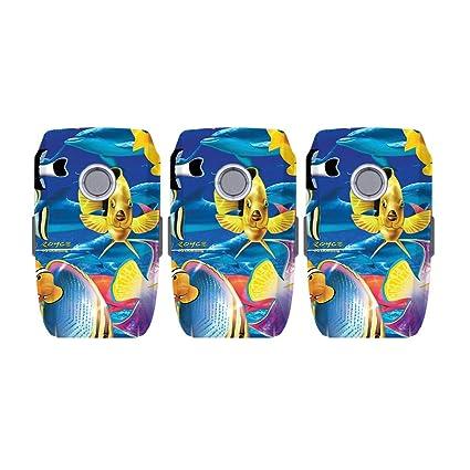 0f7385b33bb MightySkins Skin for DJI Mavic 2 Pro and Zoom Battery - Tropical Fish |  Protective,