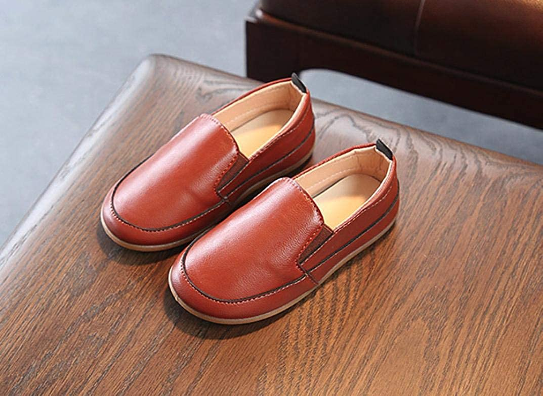 Voberry@@@@@@@@@@@@@@@@@@@@@@@@@@@@@@ Casual Toddler Kid Boys Loafers Soft Synthetic Leather Slip On Boat Shoes//Sneakers//Flats