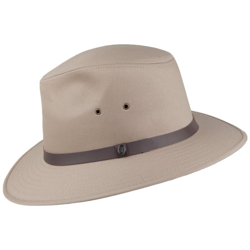 25d74563638 Jaxon   James Cotton Safari Fedora - British Tan  Amazon.co.uk  Clothing