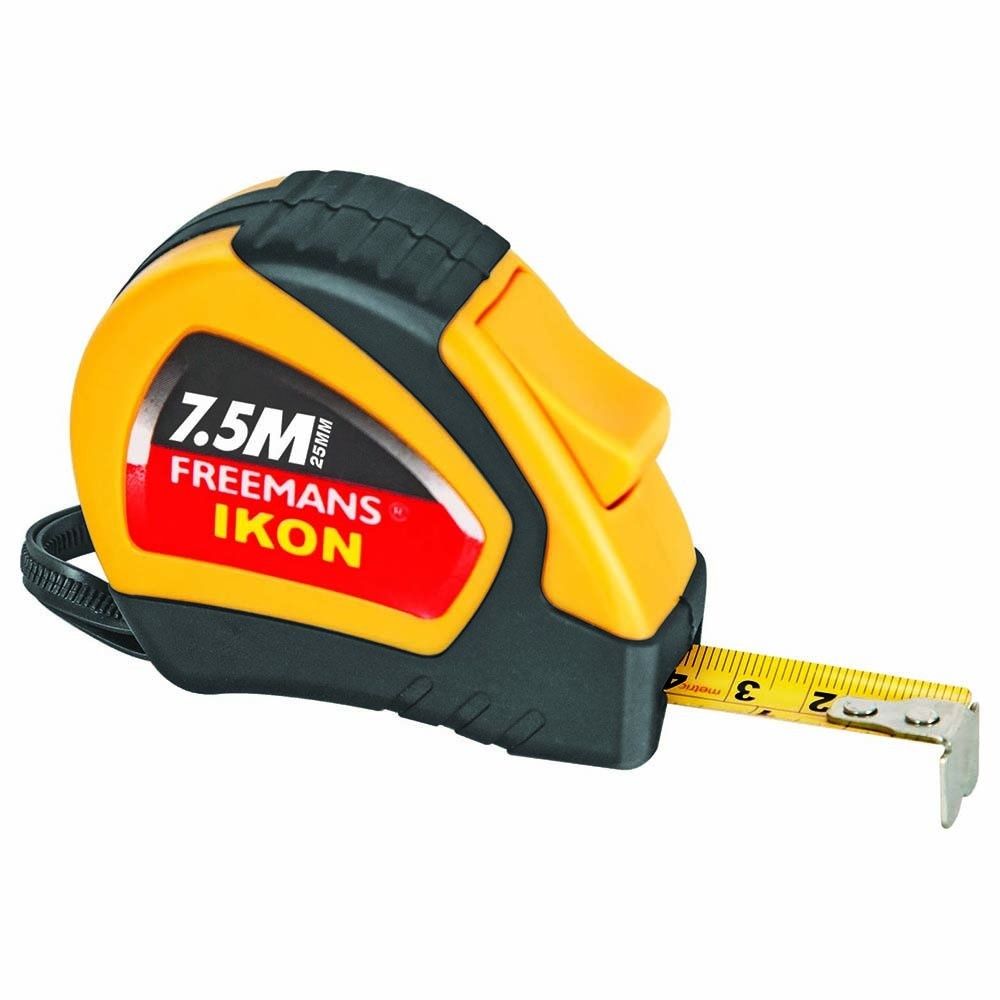 Freemans IK7525 Ikon 7.5m:25mm Measuring Tape