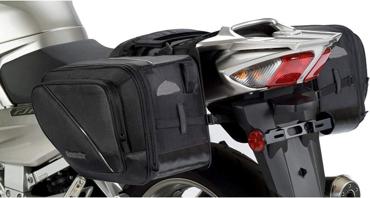 Tourmaster Black Elite Saddlebag}