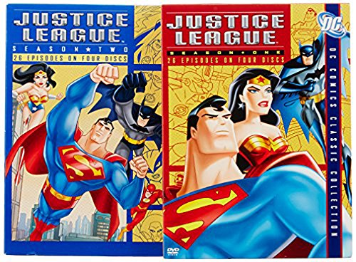 Justice League, Seasons 1-2 (DC Comics Classic Collection) ()