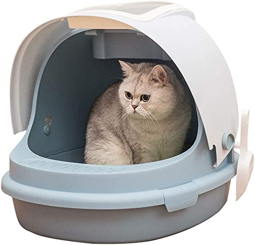 MTCWD Caja De Aseo para Mascotas, Arenero para Gatos, Caja De ...