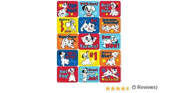 Success Paper Magic Group 657412 Eureka  101 Dalmatians Motivational Stickers