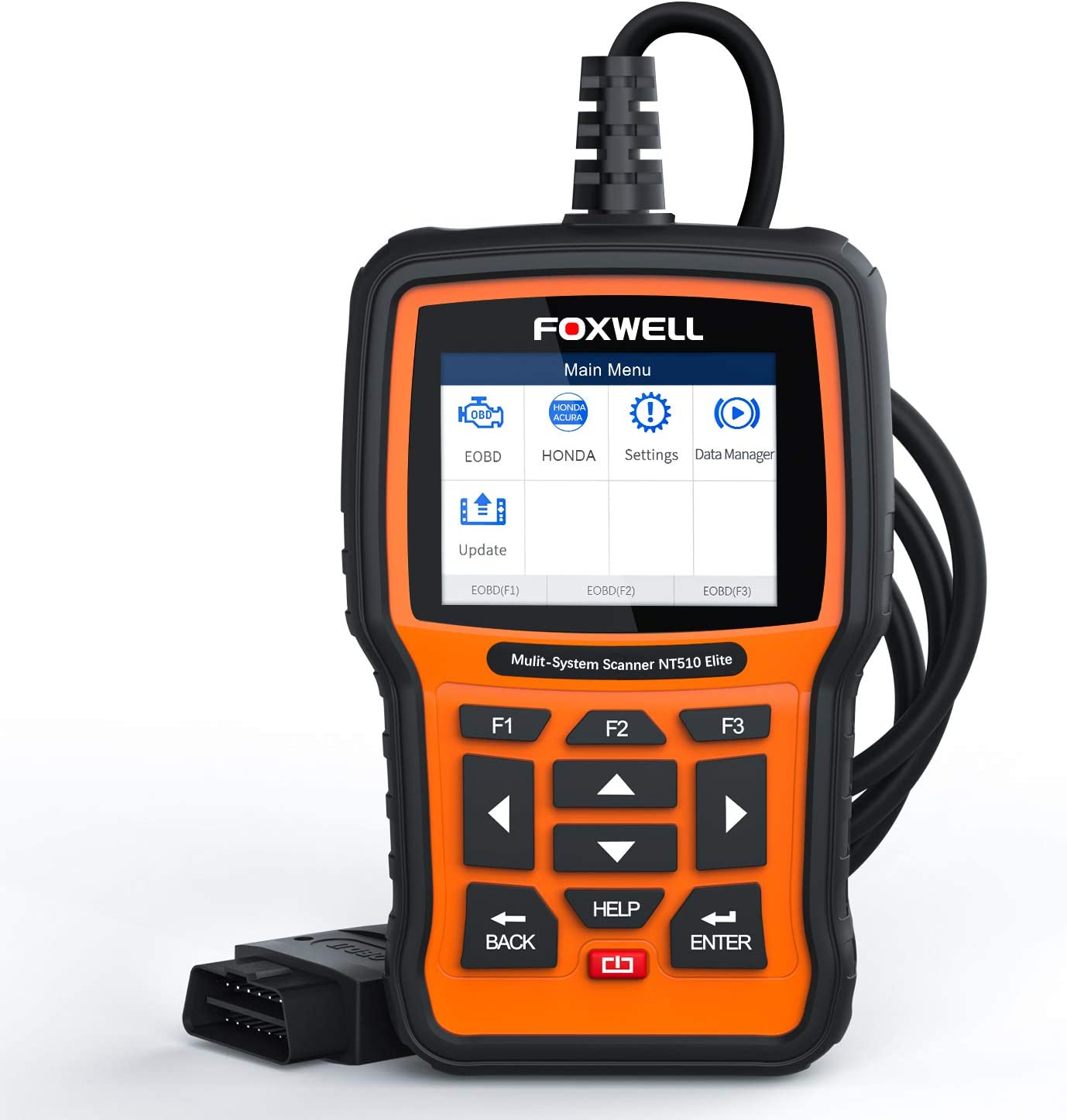 Bi Directional Scan Tool >> Foxwell Nt510 Elite Obd2 Bi Directional Scan Tool For Honda Acura All System Diagnostics Abs Srs Transmission Battery Registeration Auto Bleed Tps Sas