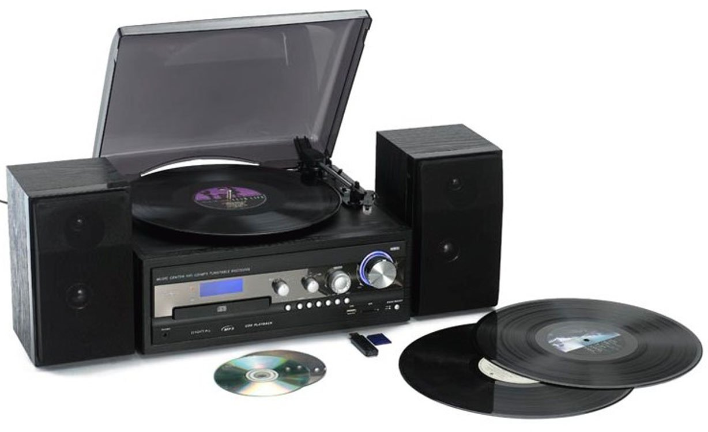 Reflexion HIF8180 Tocadiscos semiautomático (MP3 DVD, USB 2,0 ...