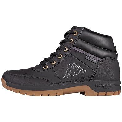 ecf3473f12 Amazon.com | Kappa Bright Mid Light Unisex Black Boots | Fashion Sneakers