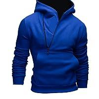 Bluester Men Hoodies, Mens' Long Sleeve Hoodie Hooded Sweatshirt Tops Jacket Coat Outwear Blouses