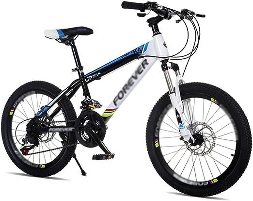 ZHIRONG Bicicleta Para Niños Azul Rojo Verde 20 Pulgadas Excursión Al Aire Libre Cambiar La Velocidad De La Bicicleta De Montaña (Color : Azul) : Amazon.es: Jardín