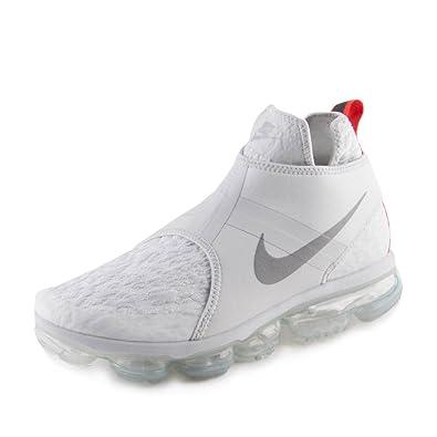 4901b734f1 Nike Mens Air Vapormax Chukka Slip Pure Platinum/Silver Neoprene Size 11.5