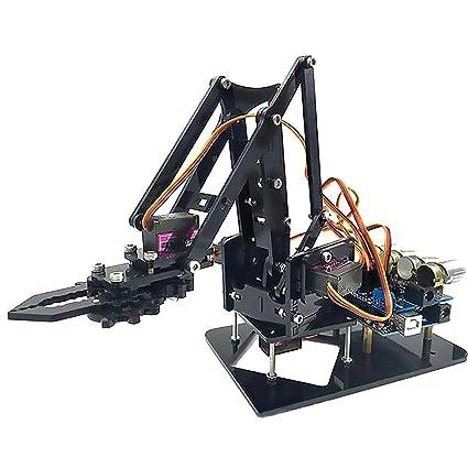 4-Axis Brazo Mecanica Garra, Rodamientos de Alta Calidad con Buena Precisión, Mecanica