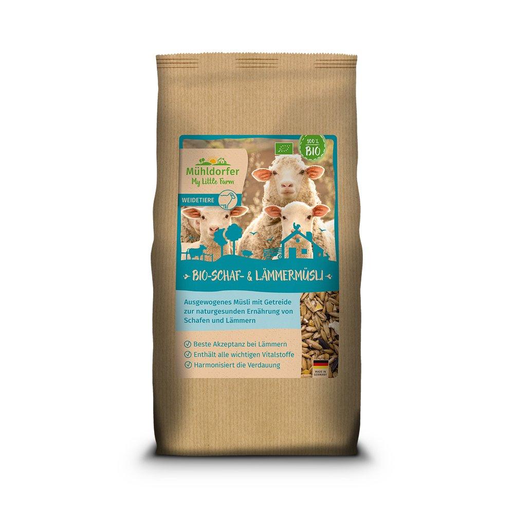 Mühldorfer Bio-Schaf- und Lämmermüsli, mit Getreide, My Little Farm, Müsli Müsli 1 25 kg Mühldorfer Nutrition AG