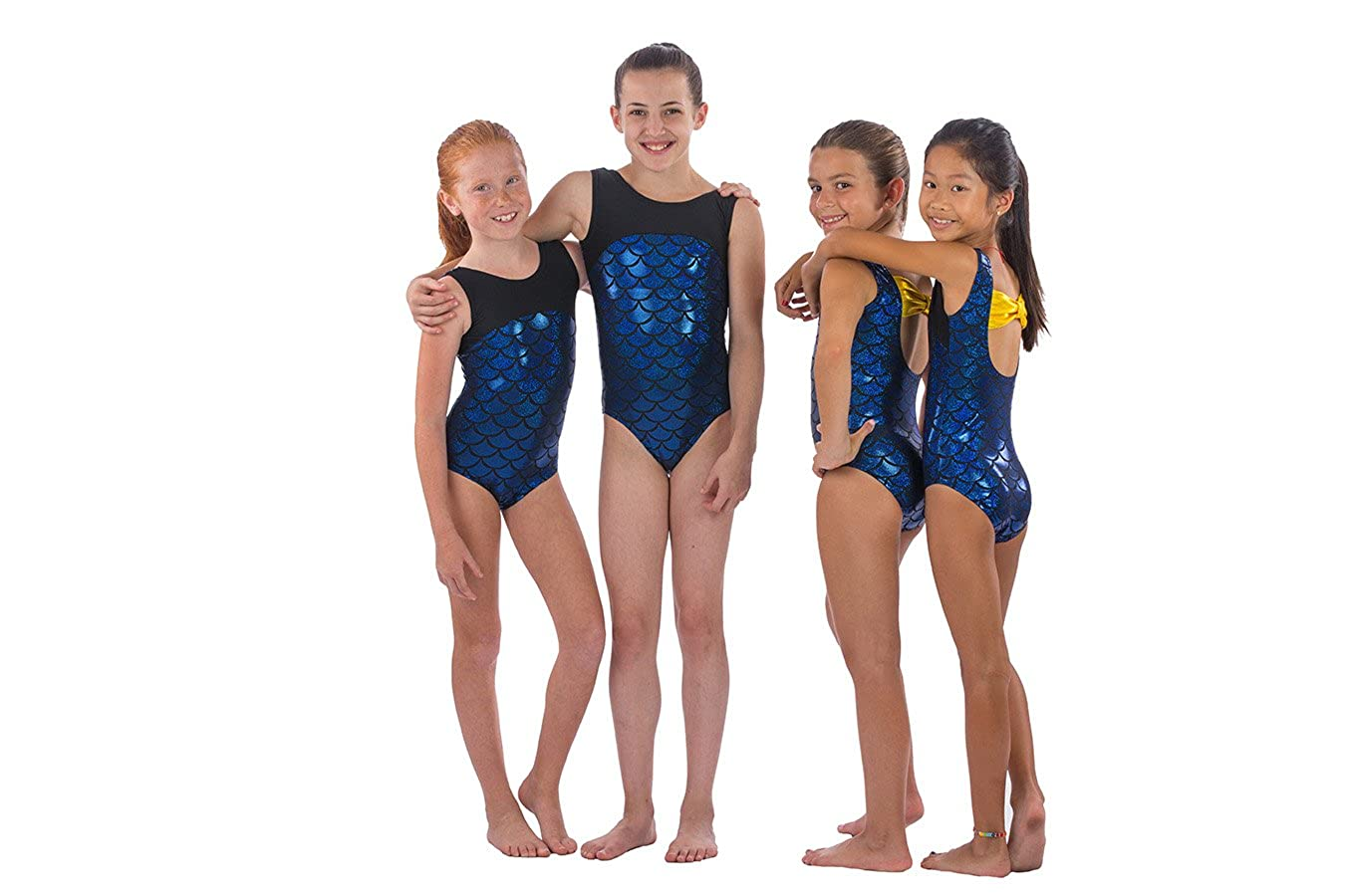 a0c82bdb3 Lizatards Leotard Mermaid Girls Gymnastics Leotard Mermaid Bow Back in  Girls and Adult Sizes Choose Your Favorite