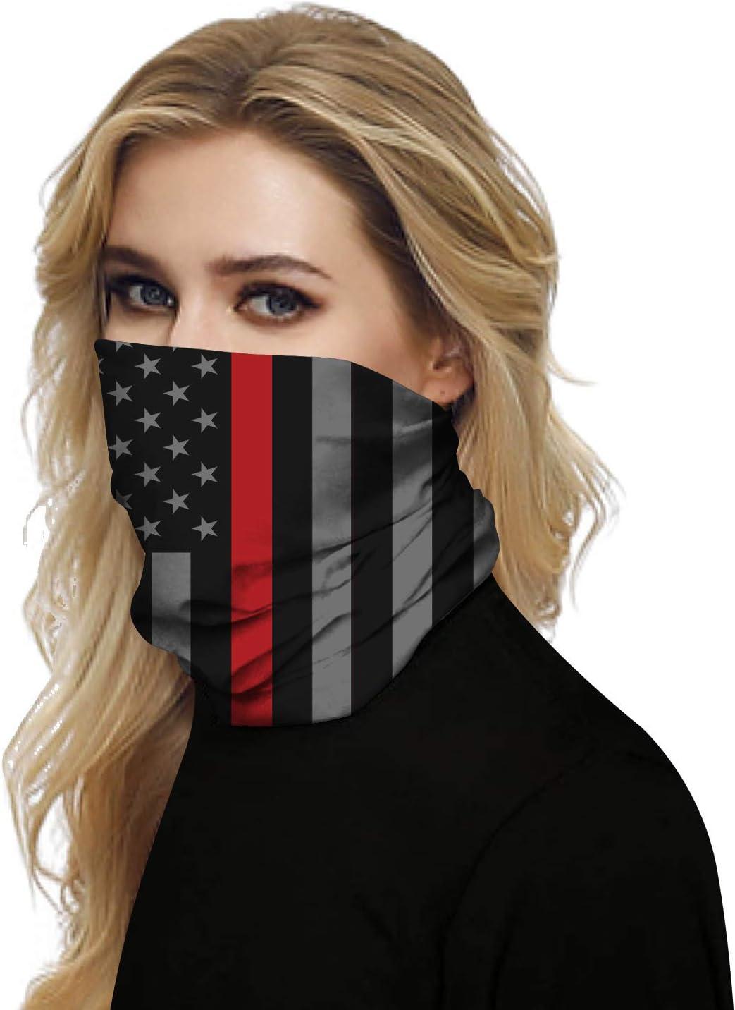 Venivic Couvre Visage Masque Sans Couture Homme Femme Bandanas Cache-cou Foulard pour Sport Ext/érieur Protection UV Anti-poussi/ère