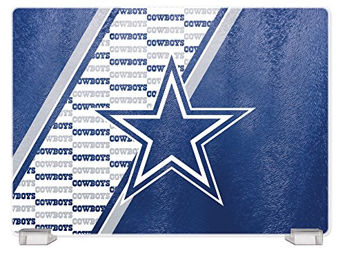 - NFL Dallas Cowboys Tempered Glass Cutting Board with Display Stand