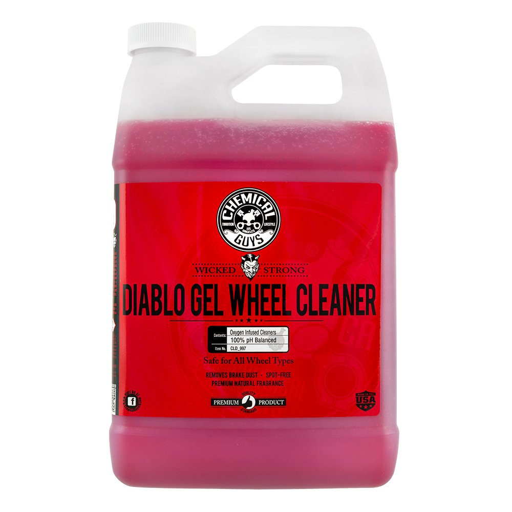 Chemical Guys CLD_997 Diablo Gel Wheel and Rim Cleaner (1 Gal) by Chemical Guys