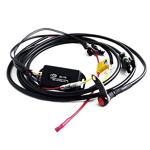 amazon com baja designs wiring harness kit for squadron led  led, 12v 3 pin universal wiring harness