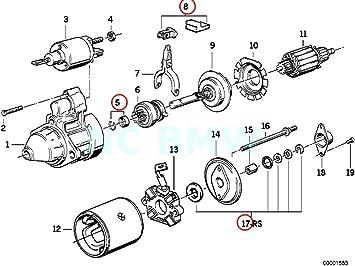 Fits BMW 3 Series E30 5 Series Z1 Starter Motor