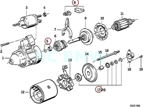 Amazon.com: BMW Genuine Repair Kit Starter Motor: AutomotiveAmazon.com