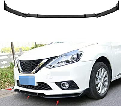 MotorFansClub 3pcs Front Bumper Lip fit for compatible with Nissan ...