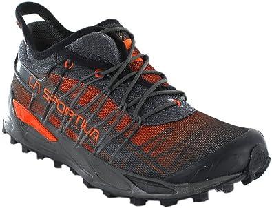 La Sportiva 26W900304, Zapatillas de Trail Running Unisex Adulto, Multicolor (Carbon/Flame 000), 41.5 EU: Amazon.es: Zapatos y complementos