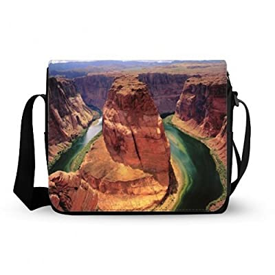 Classic Simple Beautiful Grand Canyon pattern Design Messenger Bag
