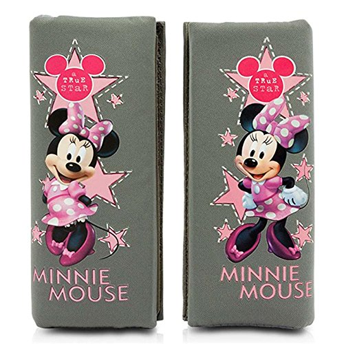 Minnie minnie102  Mini Pads, Black/Pink, Set of 2 CAR PARTS DESIGN TRADING CO.LT