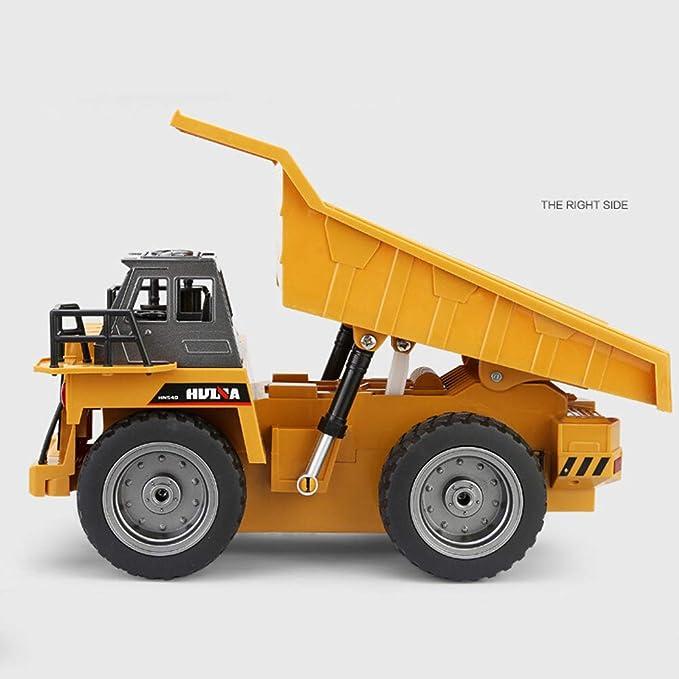 SDGDFXCHN 6 canales eléctricos Rc Kids Toy Car Control remoto funcional completo camión de juguete de descarga: Amazon.es: Bebé