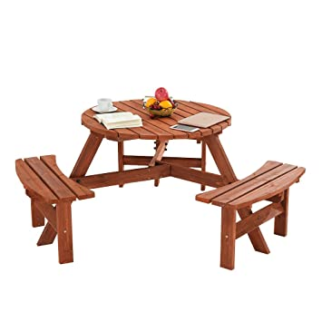 Strange Furniture Uk Shop Garden Table 6 Seater Round Picnic Table And Bench Seats Sets W6 Gmtry Best Dining Table And Chair Ideas Images Gmtryco