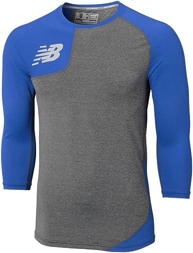 New Balance para Hombre Camiseta de béisbol Derecho Asym: Amazon.es: Ropa y accesorios