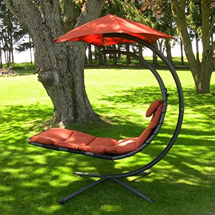 Dream Chair Chaise Lounge Chair Hanging Lounger, Same As Algoma Cloud 9  Red