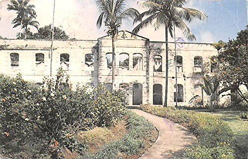 Farley Hill Saint Peter Barbados, West Indies Postcard