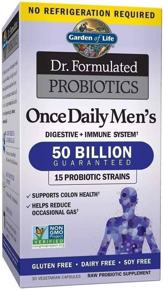 Probiótico Garden Of Life 50 Bilhões Masculino Vegetariano
