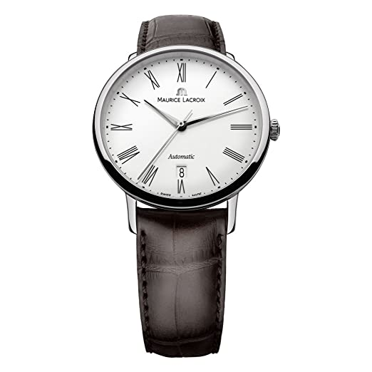 Maurice Lacroix LC6067-SS001-110 - Reloj Color marrón: Amazon.es: Relojes