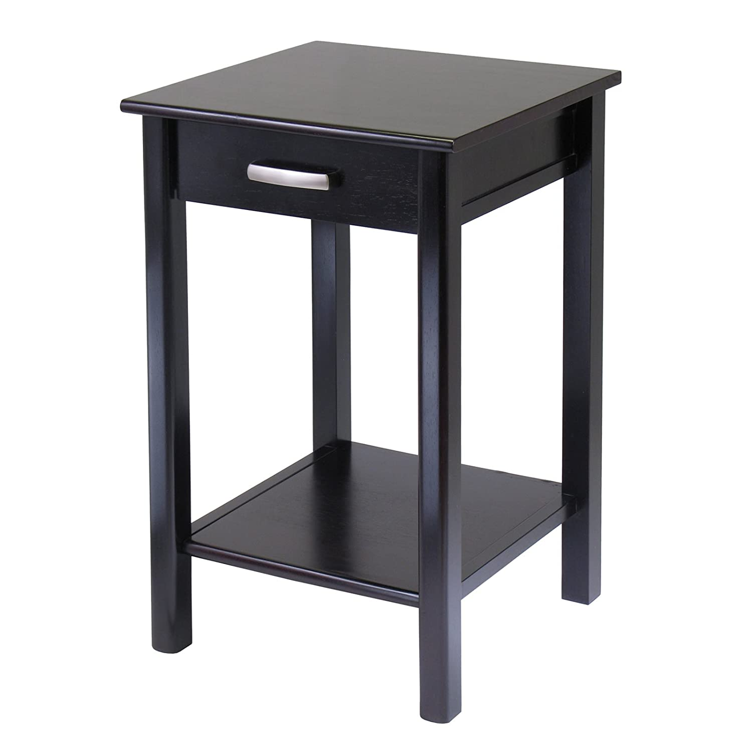 Amazon Winsome Wood Liso End Table Printer Table Kitchen