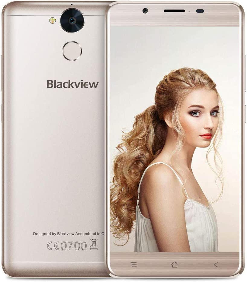 Blackview 4G Smartphone Libre 5.5 FHD, P2 Lite Moviles Dual Sim ...