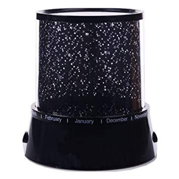 Mosuch Colorful Twilight Romantic Sky Star Master Projector Lamp Starry LED  Night Light Bed Light For