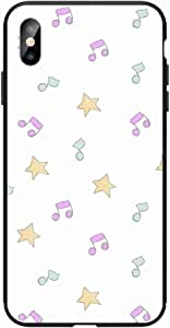 Okteq Case for iPhone X and iphone XS Shock Absorbing PC TPU Full Body Drop Protection Cover matte printed - stars tons By Okteq