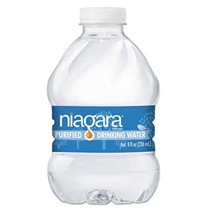 e6112694e9 Amazon.com: Niagara Bottling Purified Drinking Water, 8 oz Bottle, 24/Pack,  4368/Pallet - 8OZ24PLT: Home Improvement